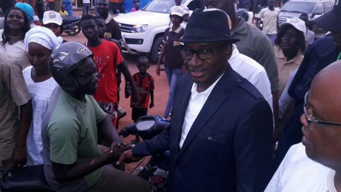 Tamba : Maître Sidiki Kaba appelle les jeunes à aller à l'assaut des cartes