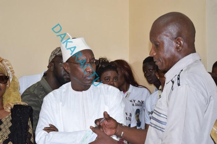 Pour un retrait massif des cartes d'électeur : Mamour Diallo s'implique