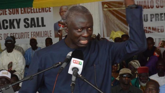 Campagne législative à Dagana : La tête de liste départementale de la coalition Bby, le Dr Mame Diop, veut rayer Oumar Sarr de la carte politique du département de Dagana.