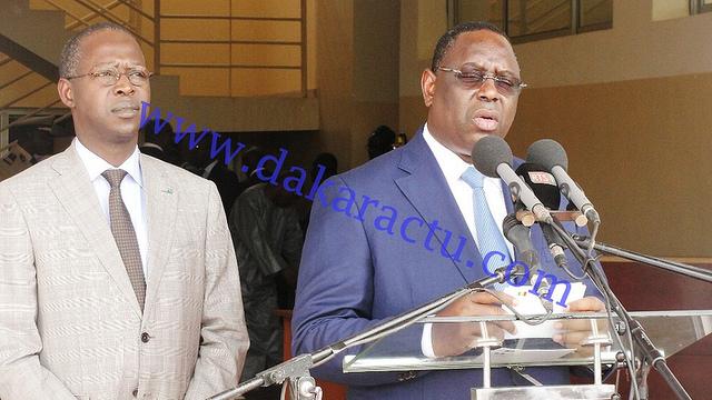 Macky Sall sur les fuites au BAC : « Les auteurs complices et bénéficiaires seront sanctionnés à hauteur de leur forfait »