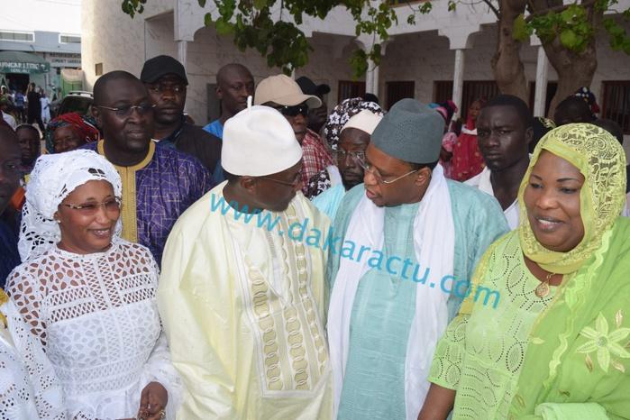 Louga : Visite de Mamour Diallo chez Thierno Bachir Tall (Images)