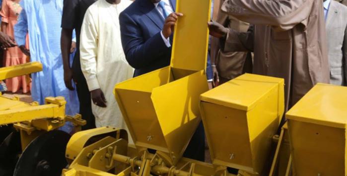 Le Conseil Départemental de Louga dote les producteurs agricoles d'un important lot de matériel agricole