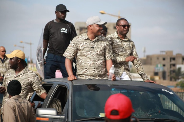 Législatives - Heurts à Grand-Yoff: la caravane de Amadou BA attaquée