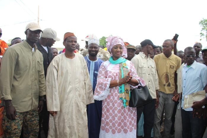 """KAOLACK / Mariama Sarr : """" Les Sénégalais ne donneront jamais la majorité à cette opposition de dénigreurs '"""