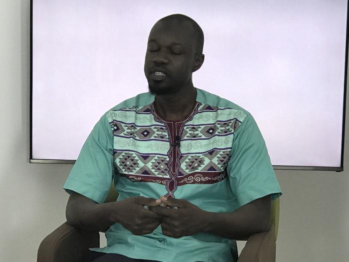 """Ousmane Sonko : """"Contrairement à ce qui a été dit, j'ai été radié pour indiscrétion professionnelle"""""""