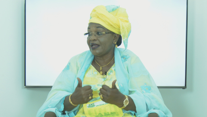 """Aïda Mbodji (And) : """"La majorité est seule comptable du bilan de la 12ème législature"""""""