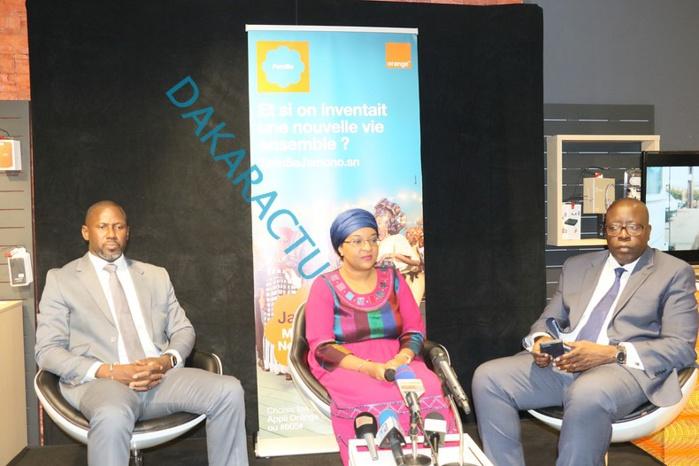 Cérémonie de présentation : Orange lance sa nouvelle gamme d'offres prépayées mobile Jamono (Images)