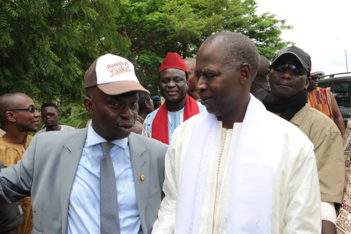 Législatives 2017 : Le premier ministre a rendu une visite de courtoisie au roi d'Oussouye