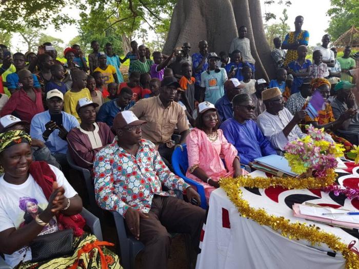 LÉGISLATIVES 2017 : Thérèse Faye Diouf mobilise Diarrère derrière Benno Bokk Yakaar