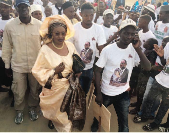 ARRIVÉE DU PM : Me Nafissatou Diop gagne la bataille de la mobilisation