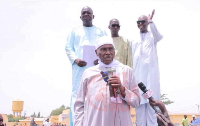 """Abdoulaye Wade : """" Que Macky Sall sache que je ne suis pas là pour jouer, je suis venu redresser le Sénégal ! """""""