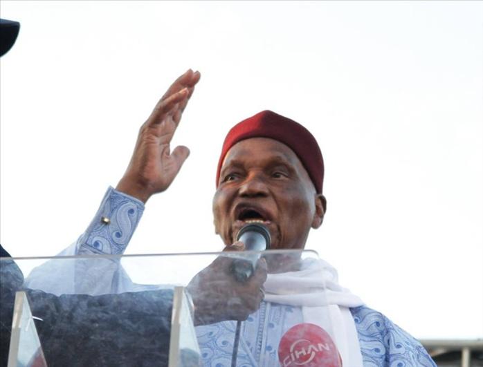 LEGISLATIVES : Déclaration du Président Abdoulaye Wade sur la marche de réclamation des cartes d'électeurs