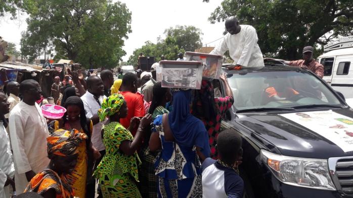 Département de Thiès : Idrissa Seck à l'écoute des difficultés des populations