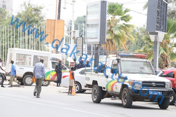Marche de l'opposition : Trois arrestations déjà à la Place de l'indépendance