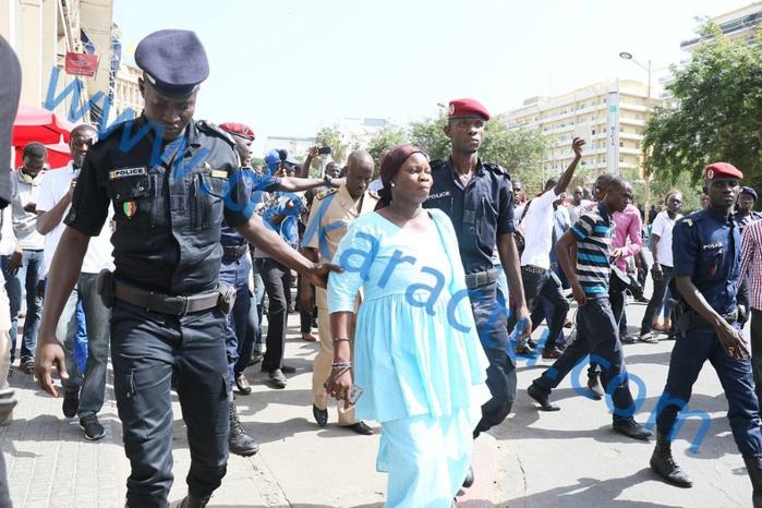 Les images de la marche organisée par Me Abdoulaye Wade