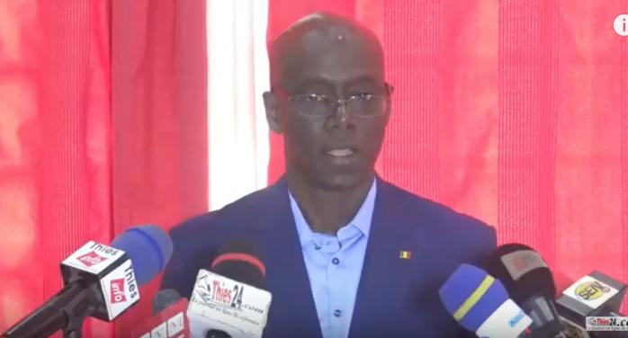 """Thierno Alassane Sall : """" Pourquoi j'ai décidé de démissionner de l'Alliance Pour la République (APR)..."""""""