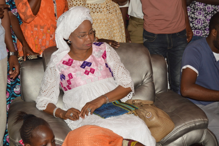 CAMPAGNE ÉLECTORALE : FATIMATA NDIAYE NIANE, UNE DAME DE L'OMBRE À CÔTÉ DE MARY TEUW.