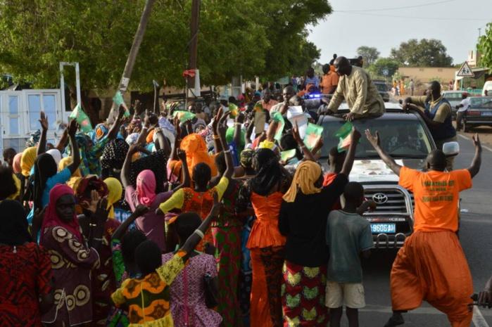 Les images du 18ème jour de campagne de ce mercredi 26 juillet 2017 du Président Idrissa Seck tête de liste départementale de la coalition Mankoo Taxawu Senegaal à Montrolland, Notto Gouy Diama Lalane, Pout Diack et Tivaouane.