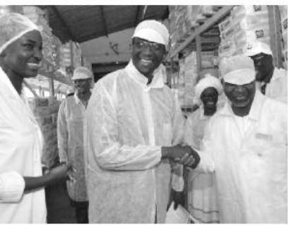 LÉGISLATIVES 2017 : Amadou Ba rend visite aux travailleurs de la SODIDA