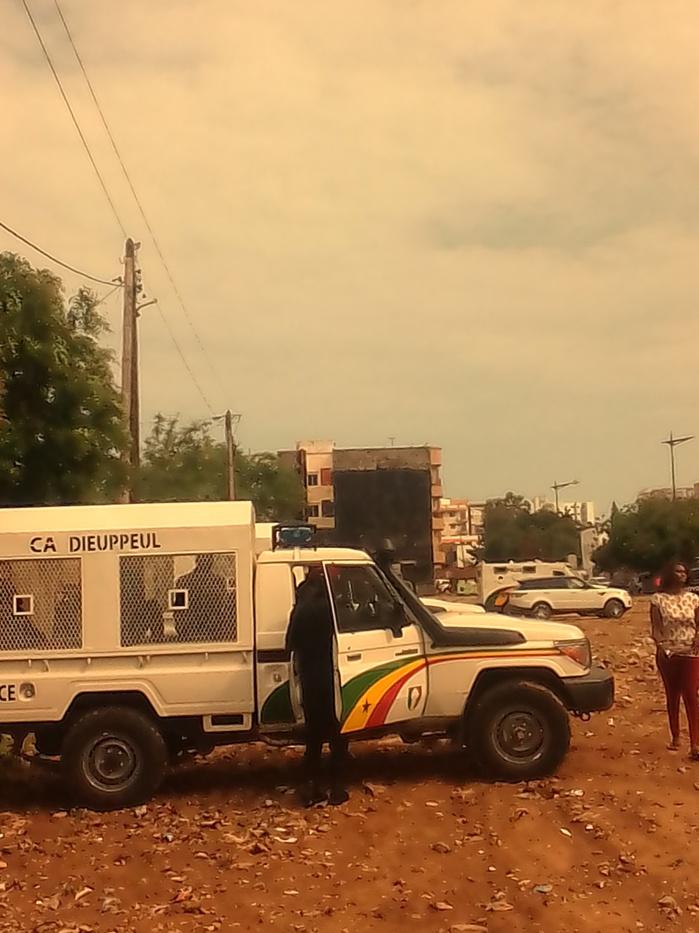 Législatives : Le Centre Massaër Niane sous haute surveillance policière