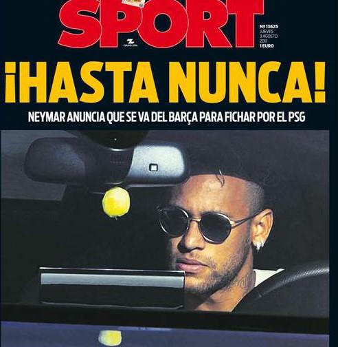 """"""" Paye et va-t-en ! """", """" À jamais ! """" : Neymar lynché dans la presse espagnole"""