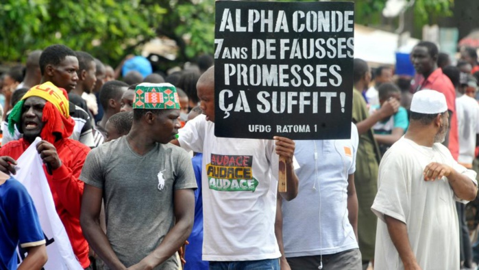 GUINÉE : Importante mobilisation de l'opposition à Conakry