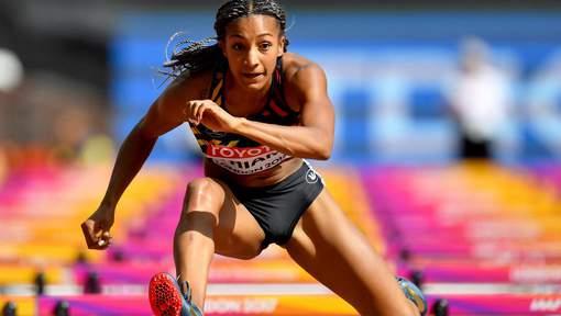 Nafissatou Thiam réalise un bon début d'heptathlon à Londres