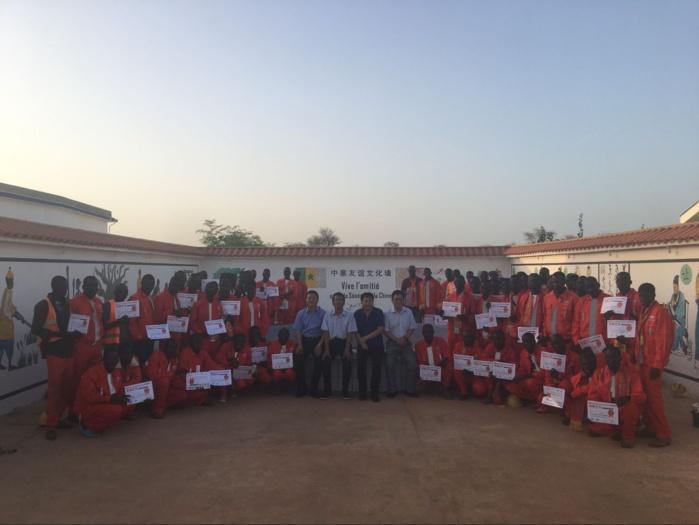 ILA'A TOUBA - Les Chinois ont primé les meilleurs travailleurs Sénégalais