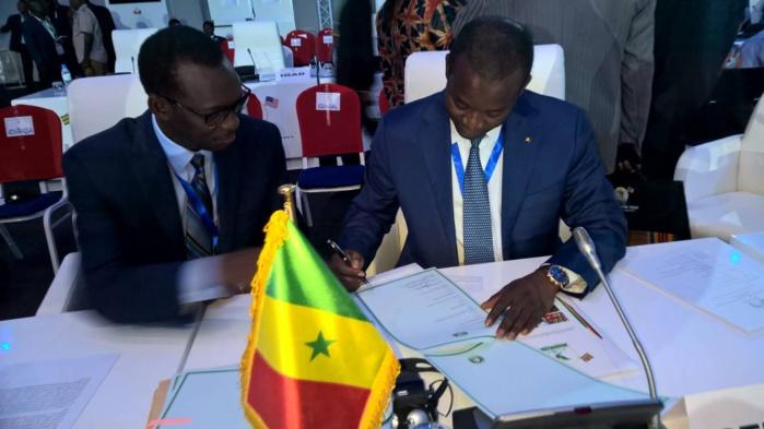 Le ministre du Commerce a signé un accord de libre-échange entre la Cedeao et la Mauritanie