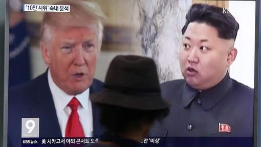Trump met une nouvelle fois en garde la Corée du Nord