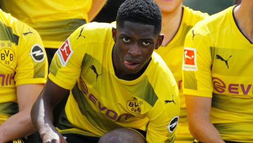 Dortmund suspend Dembélé