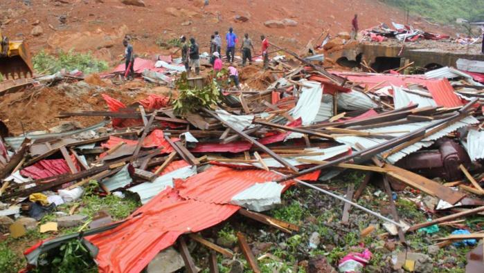 Coulées de boue en Sierra Leone : le pays «dépassé» par la catastrophe