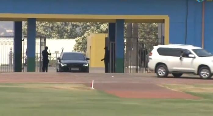 IMAGES : Arrivée de Macky Sall , ce matin au Stadium Amahoro de Kigali pour l'investiture de Paul Kagame...