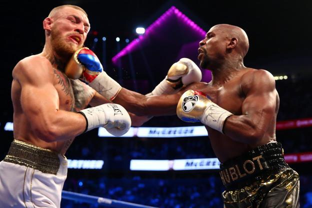 BOXE : Mayweather bat McGregor en dix rounds sur un K.O. technique