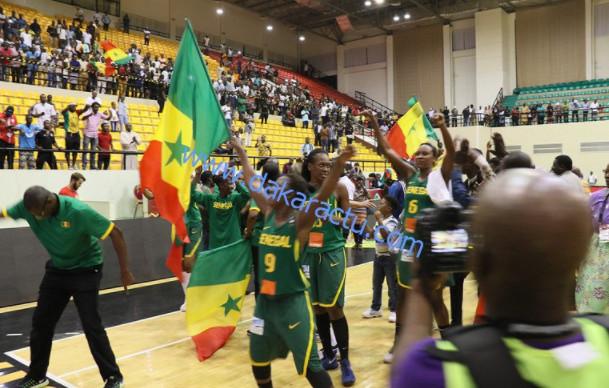 Afrobasket 2017 :  Les images de la superbe performance des lionnes face au Mozambique