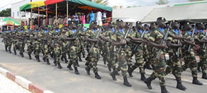 Cérémonie de remise de drapeau aux 1052 recrues du BAT 12 à Dakar- Bango : Le lieutenant colonel Mouhamadou Abdoulaye Sylla satisfait  de la formation.