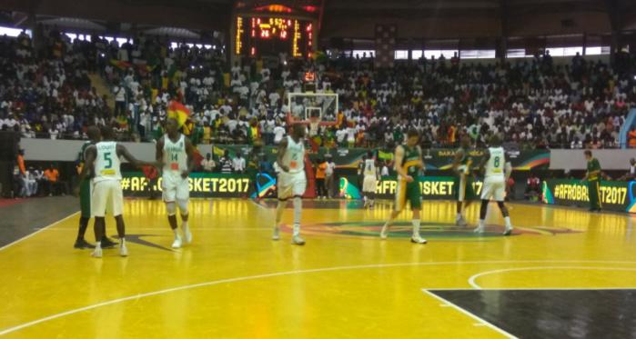 Match d'ouverture de l'Afrobasket  : Le Sénégal mène 42-18  à la mi-temps, face à l'Afrique du Sud