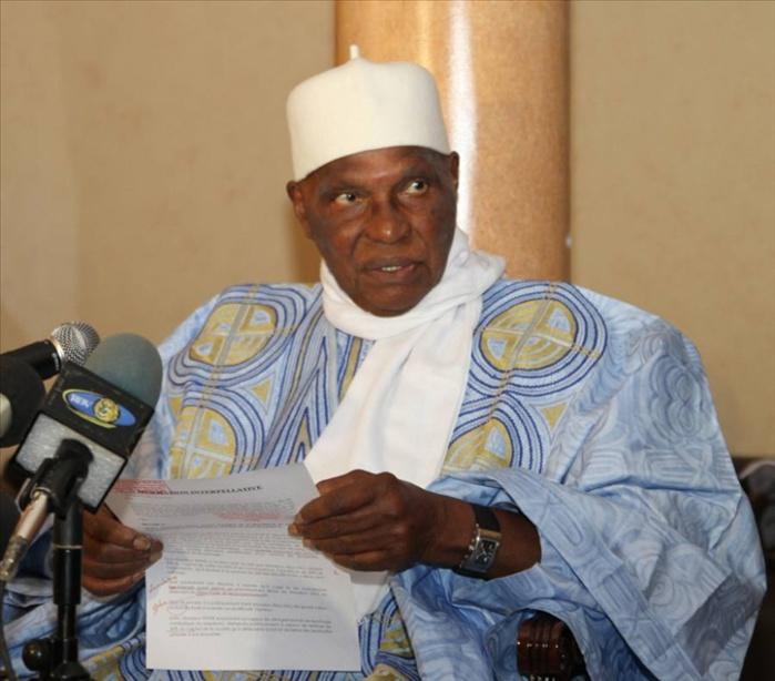 Me Abdoulaye Wade démissionne de son poste de député à l'Assemblée nationale
