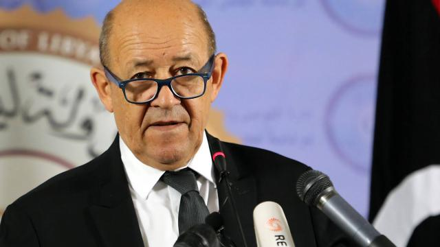 PARIS ACCUEILLERA LES JEUX OLYMPIQUES EN 2024 : Déclaration de Jean Yves Le Drian, ministre de l'Europe et des Affaires Etrangères