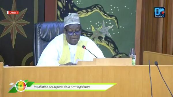 Cérémonie d'installation de la 13ème Législature : Allocution de Moustapha Niasse, Président de l'Assemblée nationale