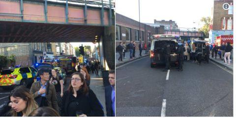 """LONDRES : Plusieurs blessés dans le métro, un """"acte terroriste"""" selon la police"""