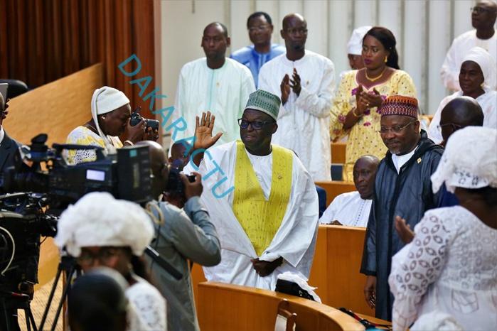 Assemblée Nationale : Les images de l'investiture de la 13e législature