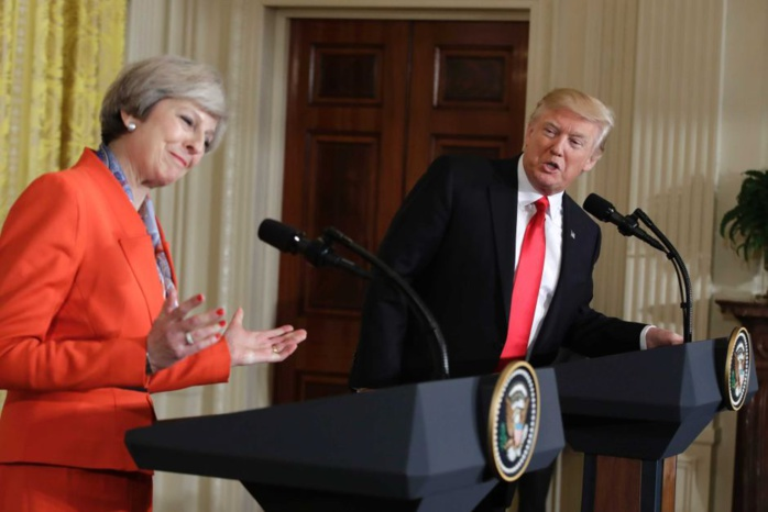 Attentat de Londres : Le (nouveau) tweet de Donald Trump qui agace Theresa May