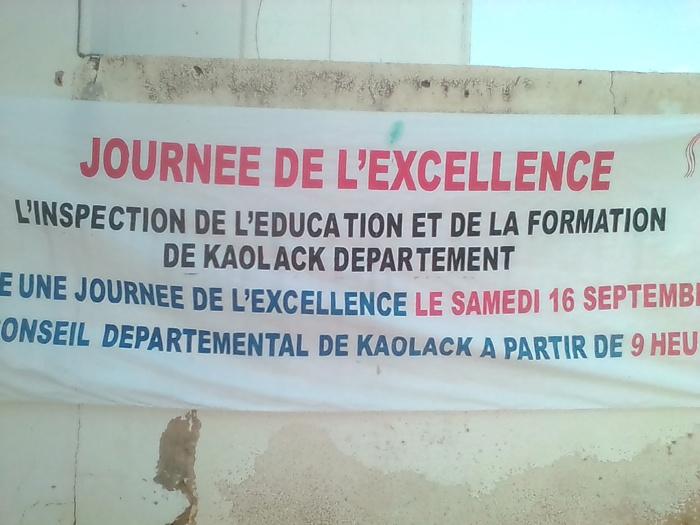 JOURNÉE DE L'EXCELLENCE : Les 96 meilleurs élèves du département de Kaolack primés