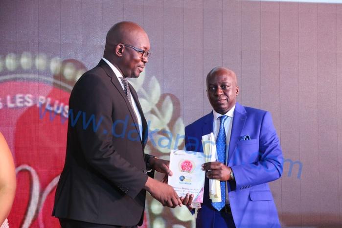 Gala des 100 Entreprises : Pape Maël Diop reçoit la palme du manager le plus dynamique