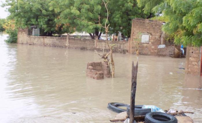 Bilan des fortes pluies d'hier nuit à Kaolack : Un mort et d'énormes dégâts matériels