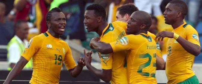 Mondial 2018: L'Afrique du Sud bat le Burkina Faso (3-1)