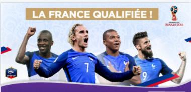 La France est qualifiée pour la Coupe du Monde 2018 !