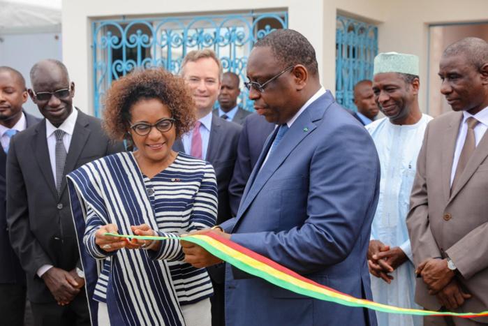Images : Inauguration des locaux de l'IFEF en compagnie du Secrétaire Général de l'OIF Me Michaëlle Jean.