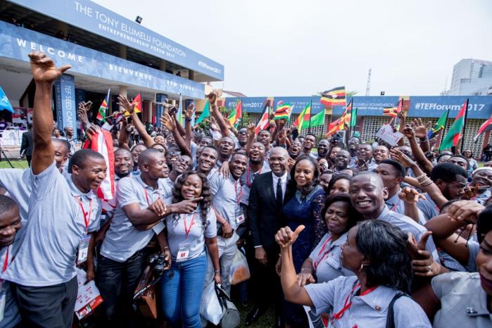 FORUM DE L'ENTREPRENEURIAT : La Fondation Tony Elumelu organise la plus grande rencontre des entrepreneurs africains.